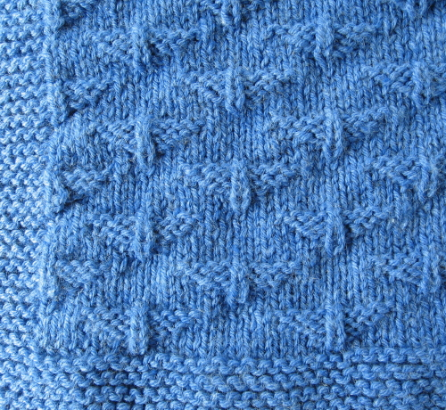 Simple Knits Fly Boy Baby Blanket