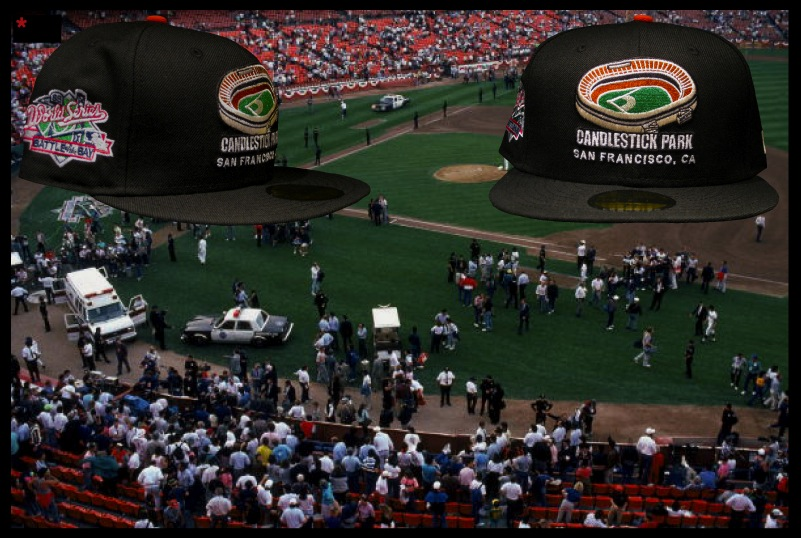 Candlestick park earthquake: san francisco earthquake today vs world