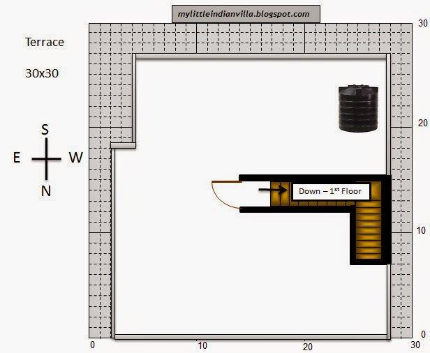 My little indian villa 33 r26 3bhk duplex in 30x30 for 30x30 house floor plans