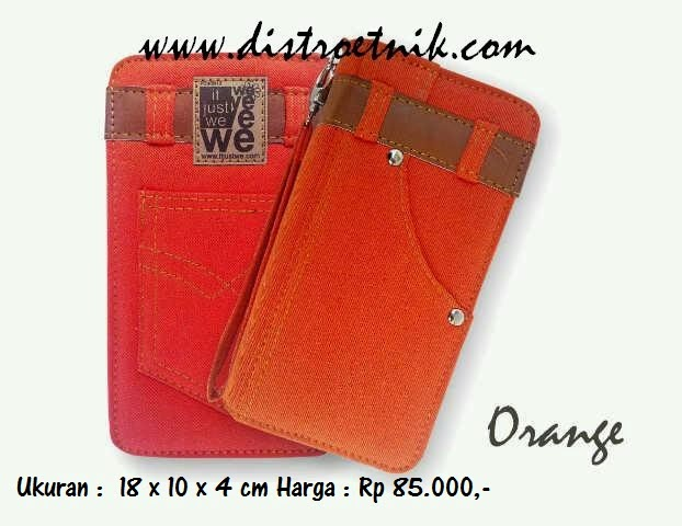 dompet jeans it just we classic series orange