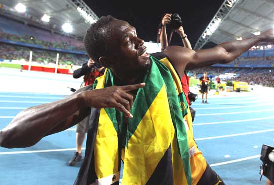 Usain Bolt Is The Fastest Man In The World
