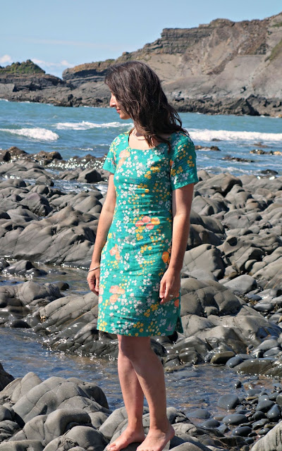 Nani iro double gauze dress en garden