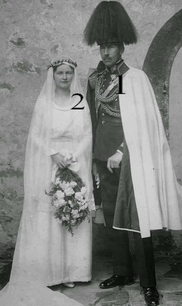 Mariage de Joseph zu Erbach- Fürstenau et de Maria Agnes zu Solms-Braunfels