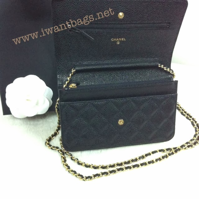 Chanel Classic Quilted WOC Caviar (GHW) in Black : chanel quilted woc - Adamdwight.com