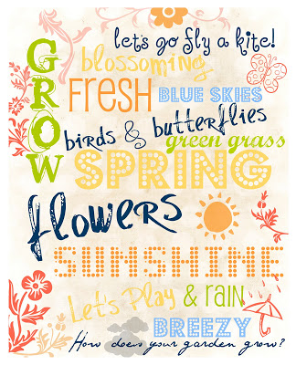 There Is Sunshine In My Soul Today! {Spring Printable ...