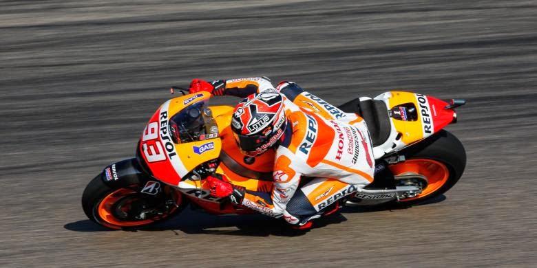 Hasil free practice latihan bebas motogp aragon spanyol, marc marquez tercepat