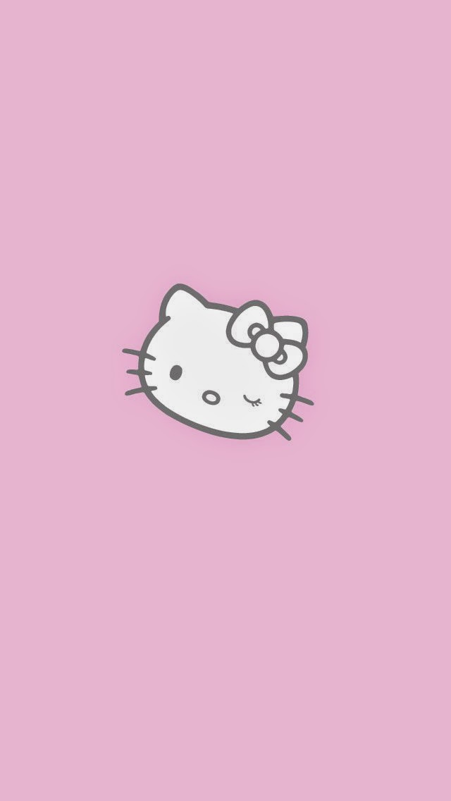 wallpaper iphone 5 pink kitty - photo #41