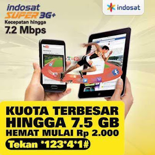 INDOSAT SUPER 3G Plus