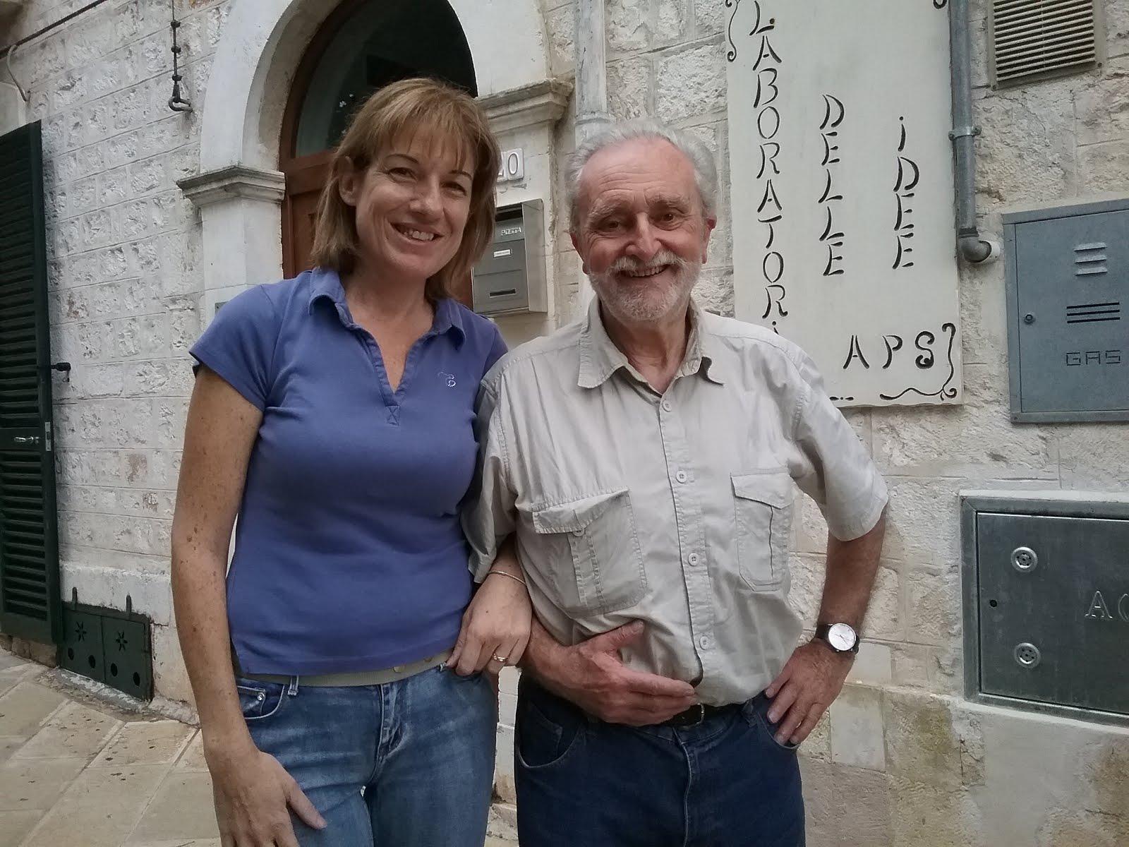 Con Lorenzo Rappelli