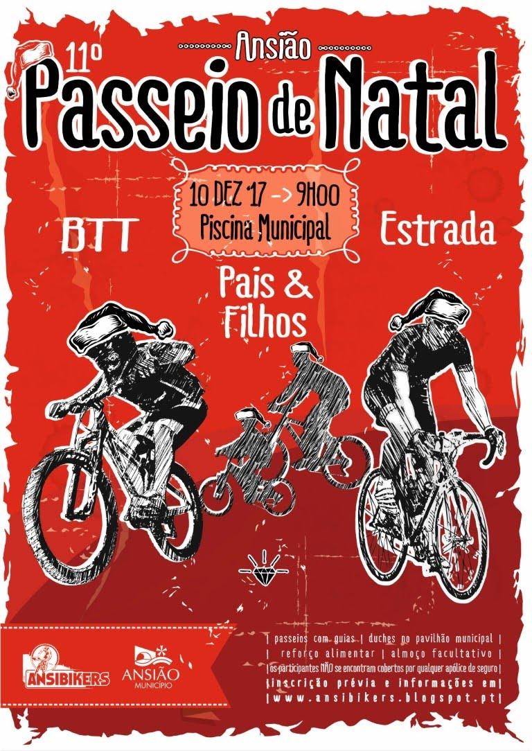 11º Passeio BTT/Ciclismo de Natal - Ansião - 10DEZ2017