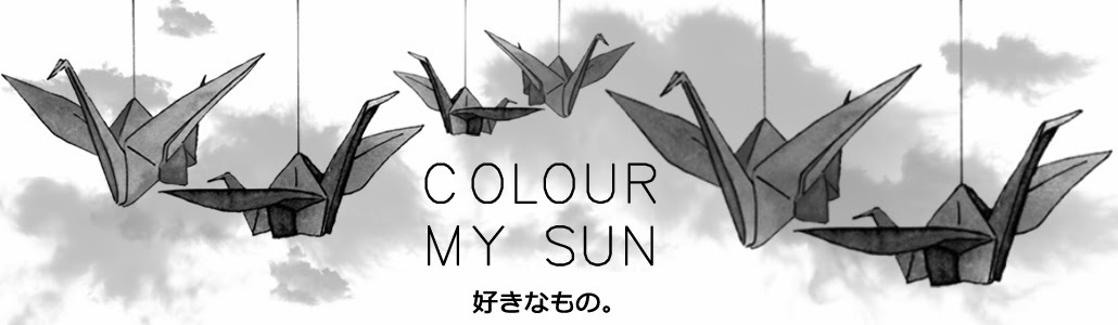Colour my sun.
