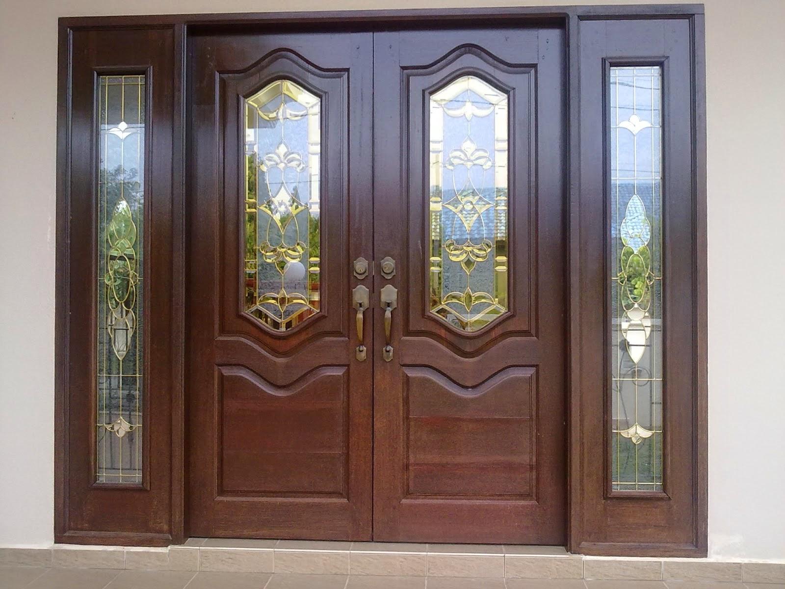 teralis pintu dua daun