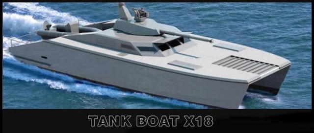 X18 Tank Laut Pertama di Dunia Buatan Indonesia....!!!