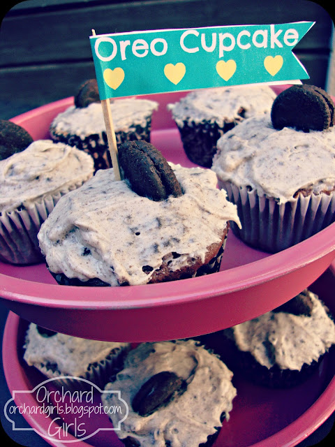 Orchard Girls-Oreo Cupcake Recipe