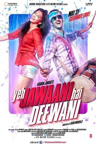 First Look : Yeh Jawani Hai Deewani -Ranbir and Deepika starer movie