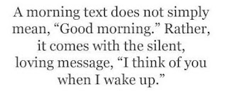 Good morning love text messages