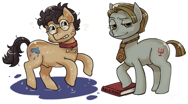 MLP my little pony Hannibal crossover