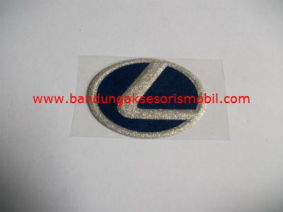 Emblem Metalic Kap Mesin Besar Lexus