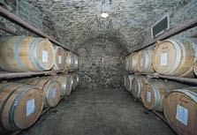Villa Le Piazzole wine cellar