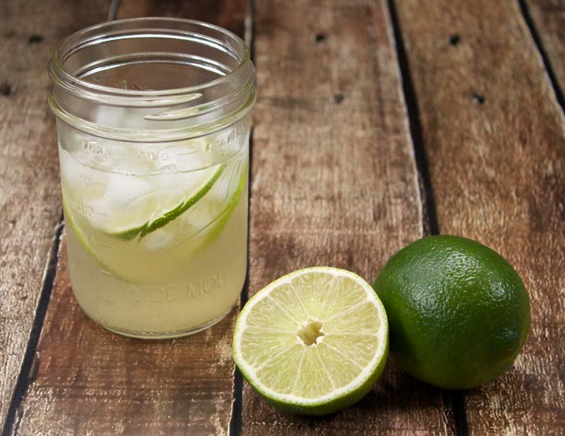 Homemade Limeade || A Less Processed Life
