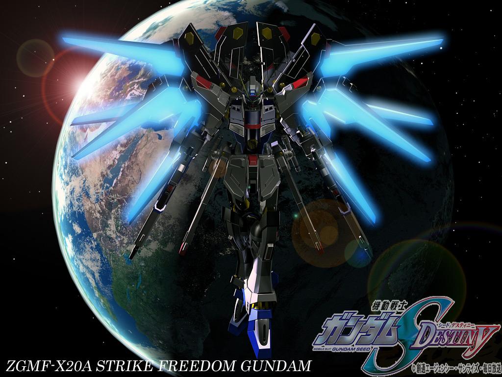 Hyoozan Site: ZGMF-X20A Strike Freedom Gundam