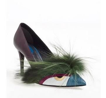 Fendi Bug Pointy toe pumps for Weird Shoe Wednesday