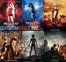 Saga Resident Evil DVDRip Latino