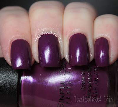 sinful colors a class act review swatch fig