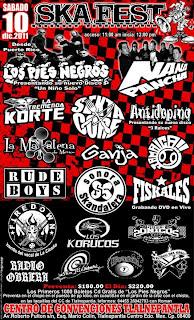 Los Pies Negros en México 2011