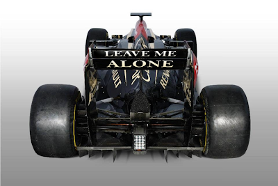 Leave me alone, Kimi F1, Lotus E21