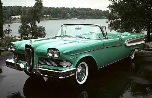 1959 Edsel convertible