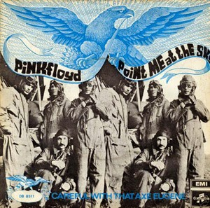 Pink Floyd - Primeros Simples 1968+-+Point+Me+At+The+Sky+b-w+Careful+With+That+Axe,+Eugene+(7'')