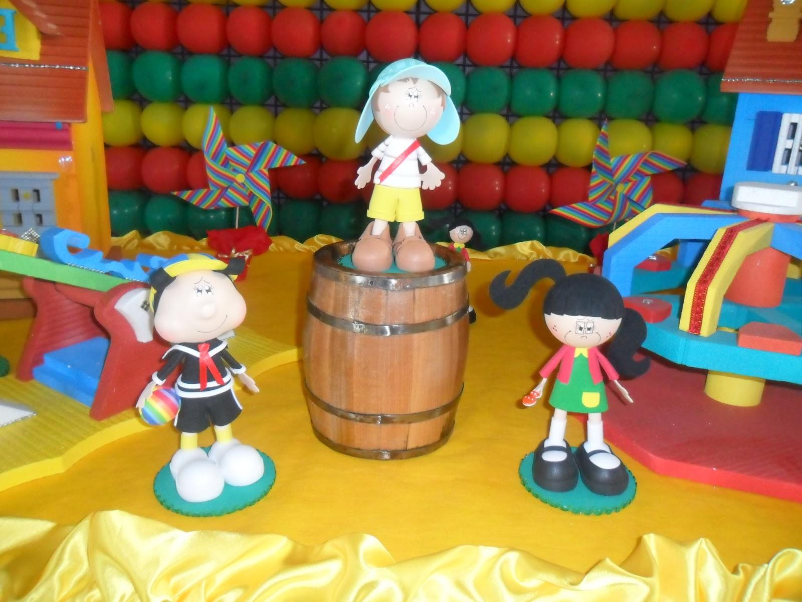 Decoração de festa com tema Chaves - mundodastribos.com