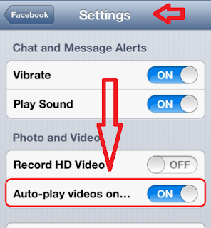 Cara Mematikan Autoplay Video di Facebook.
