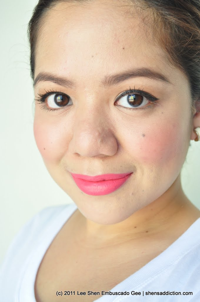 The Uncurated Life Lipstick Post NYX Matte Lipstick In Angel