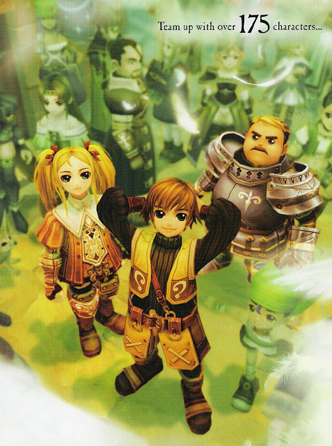 Radiata Stories, game review, anime characers