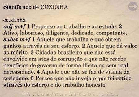 Significado de Coxinha