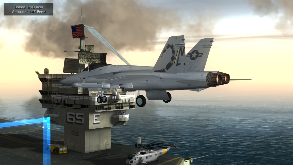 F18 Pilot Flight Simulator v1.0 Full Android Apk İndir