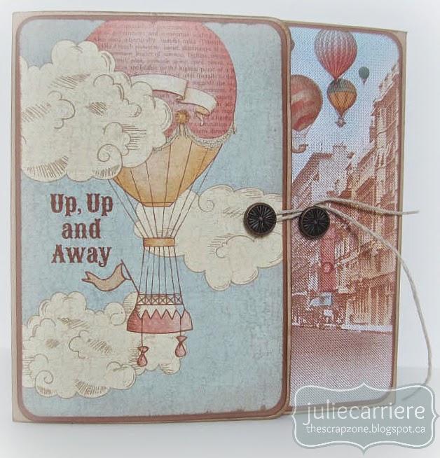 CTMH Balloon Ride mini album