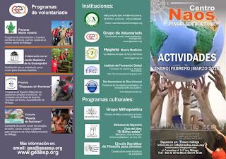 programa actividades pdf