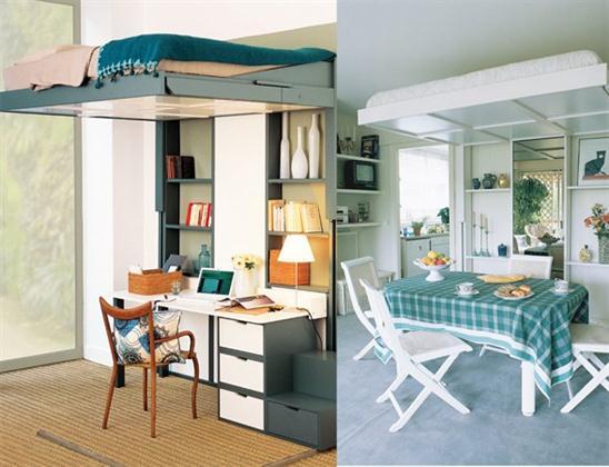 Blog rehabilitaciones hercules soluciones para pisos peque os - Muebles para pisos pequenos ...