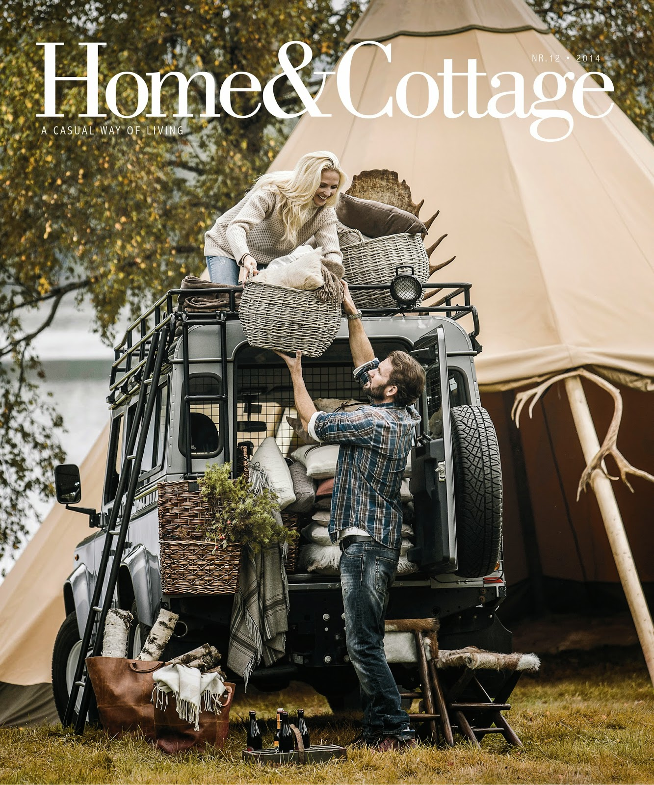 Blogg home and cottage: oktober 2014