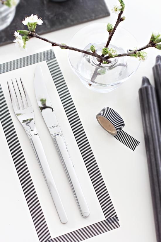 Decorar la mesa con washi tape la garbatella blog de decoraci n low cost home staging - Low cost decorating ideas seven smart tips ...