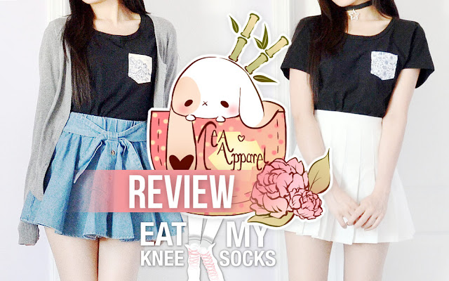 Today I've got a review of a brand-new clothing store, Tea Apparel! They sent me two of their simple-yet-cute pocket tees to review, including their Blue Hibiscus and Japanese Village pocket tees. Review ahead, along with an exclusive discount code!