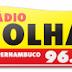 Ouvir a Rádio Folha FM 96,7 de Recife - Rádio Online