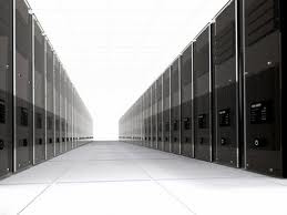 endless server room