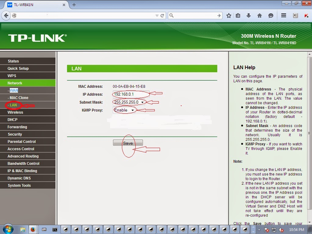 How do I change administrative password on TP-Link ADSL router