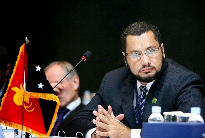 Gubernur Provinsi Oro Papua New Guinea, Garry Juffa
