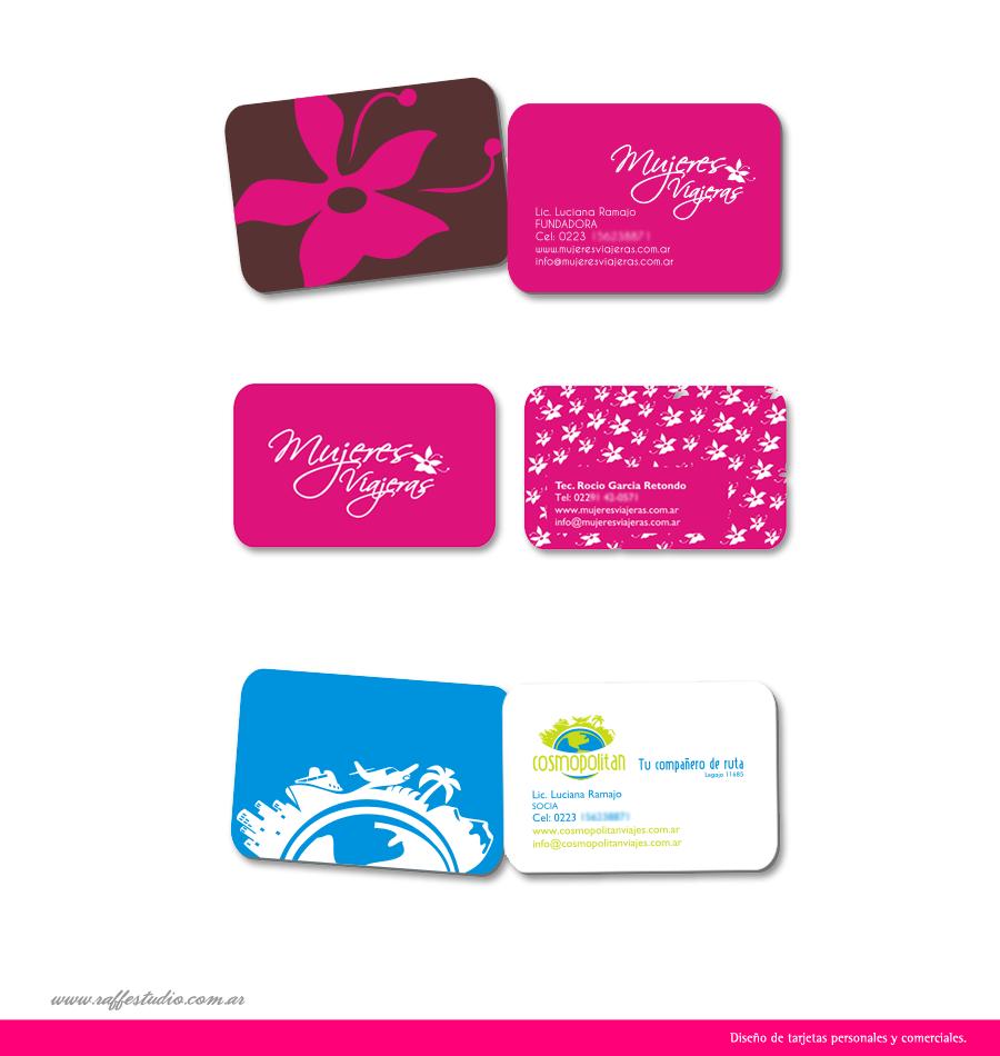 Raff estudio creativo dise o de tarjetas personales y - Disenos para tarjetas ...