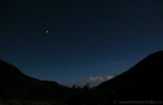 Climbing to the summit of Cerro Chirripo, Costa Rica by moonlight
